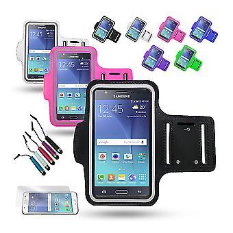 Urheilu rannekoru Samsung Galaxy J5 + 3 I 1 Kit