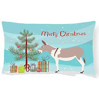 Pillows australian teamster donkey christmas canvas fabric decorative pillow