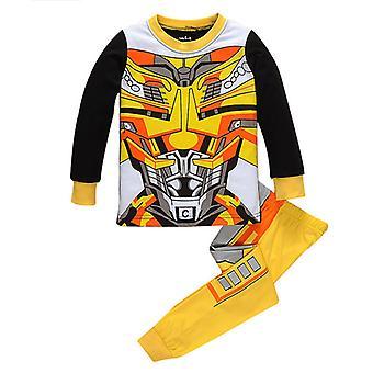 Szuperhős Pizsama Kids Boy Hálóruhás Pizsama Set Outfit Pjs
