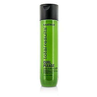 Matrix total Results Curl por favor jojoba Oil shampoo (para nutrir cachos)-300ml/10.1 oz