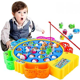Children's Fishing Pond Electric Rotating Parent-child Interaction