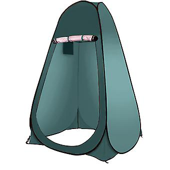 Changing Tent Outdoor Automatic Quick-opening Shower Tent, Single,120*120*190cm,blue