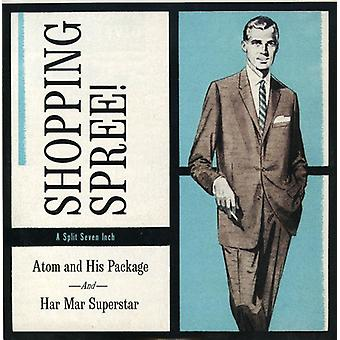 Atom & His Package/Har Mar Superstar - Shopping Spree (7-Inch) [Vinyl] USA import