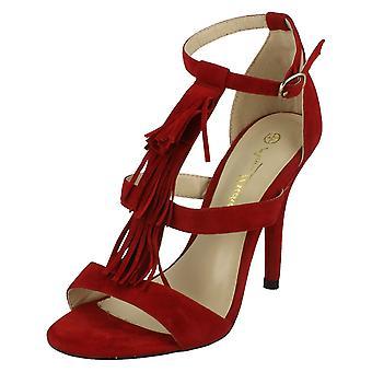 Kære Anne Michelle hæle sandaler med ankel spænde F10471