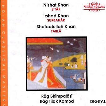 Khan, N/Khan, j'ai / Khan, S - Rag Bhimpalasi/Tilak [CD] USA import