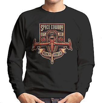 Just A Humble Bounty Hunter Cowboy Bebop Men's Sweatshirt