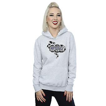 Beetlejuice Women's Sandworm Logo Hoodie
