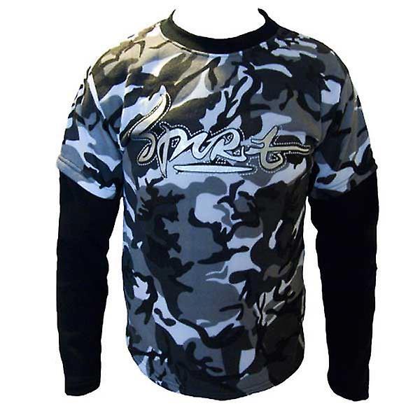 Boys Double Layer Army Fleece Sweatshirt Top