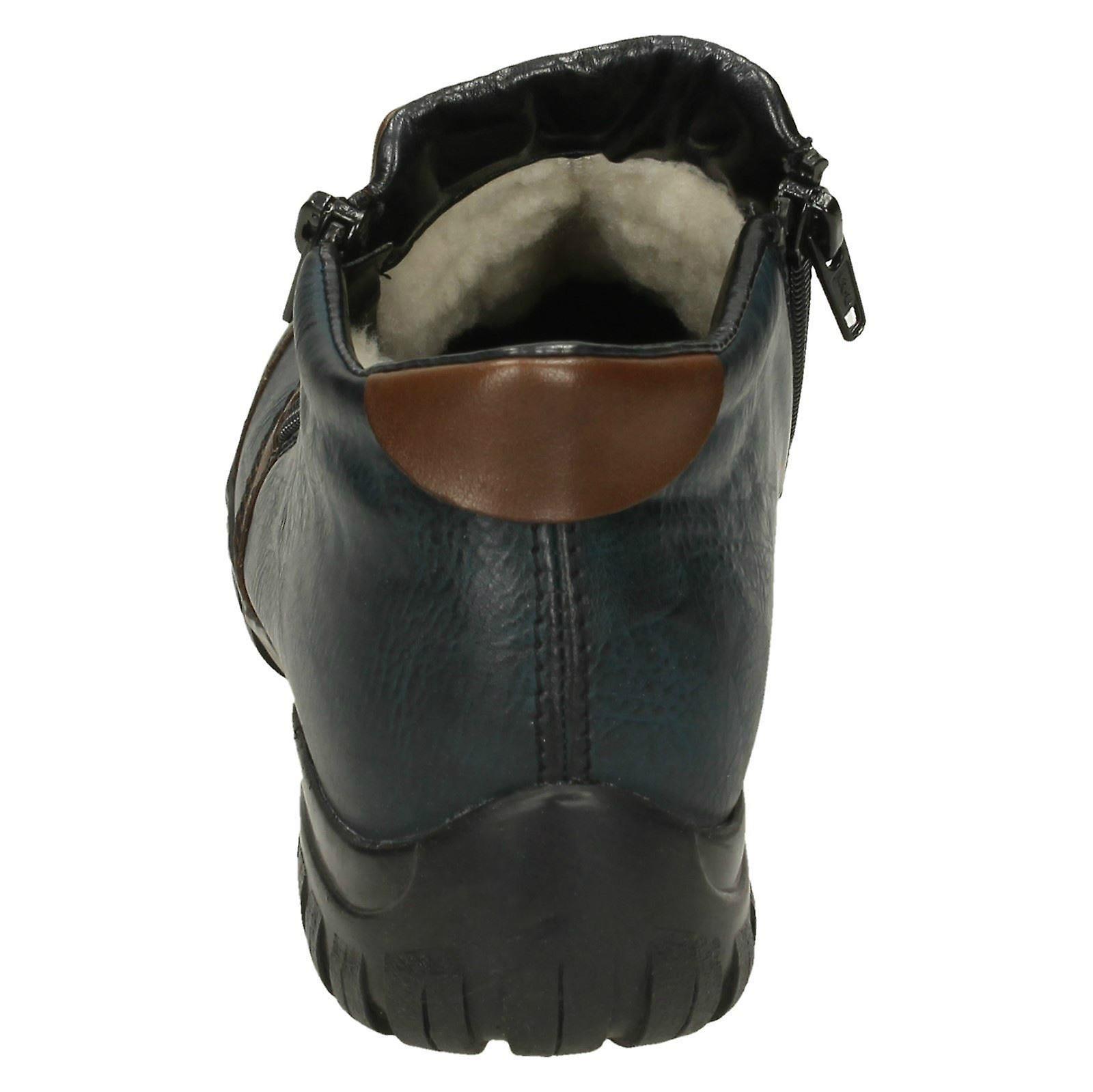 Ladies Rieker Ankle Boots L4659
