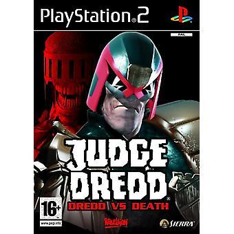 Richter Dredd Dredd vs Death (PS2) - Neue Fabrik versiegelt