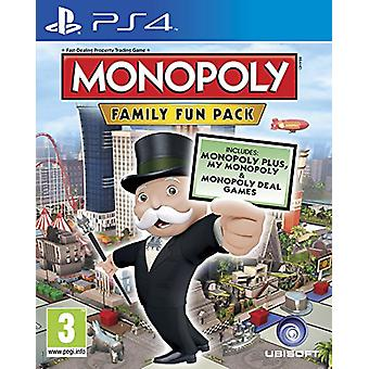 Monopoly Family Fun Pack (PS4) - New
