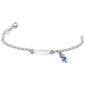 Scout Children ID bracelet engraved kids bracelet sea horse girl 260203100