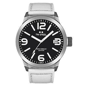TW Steel barbati ceas ceas de mana Marc Coblen Edition TWMC45 piele curea