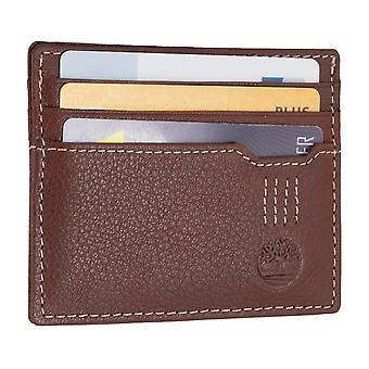 Timberland męskie posiadacz karty kredytowej, wizytówki, karty sprawa Brown 6703