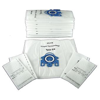 Pack Of 10 Miele S456I Vacuum Bags Type GN *Free Delivery*