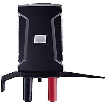 testo 0590 0002 Test lead adapter Mini T socket - 4 mm plug Scoop-proof Black