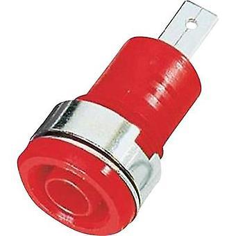 Stäubli SLB4-F/A sikkerhedsstik stik, indbygget rød 1 pc (er)