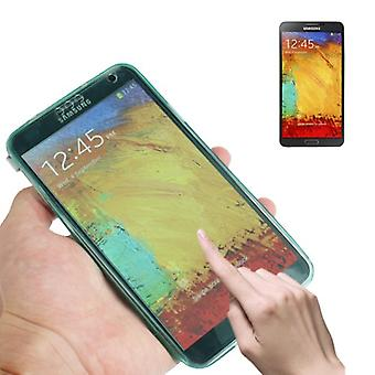 Mobile Shell flip cross for mobile Samsung Galaxy touch 3 turquoise