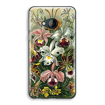 HTC U Play transparant Case (Soft) - Haeckel Orchidae
