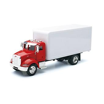 1:43 Scale Die-Cast Utility Truck, White Box Truck