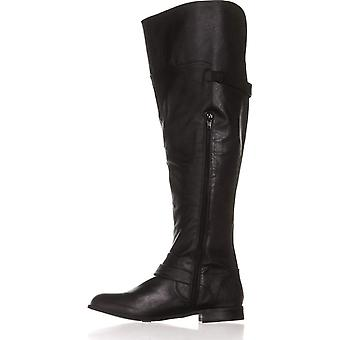 Bar III Womens Daphne WIDE CALF Almond Toe Over Knee Fashion Boots