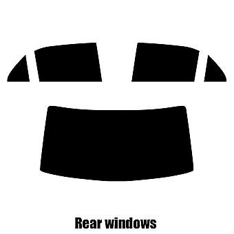 Pre cut window tint - Lancia Thema 4-door Saloon - 2011 to 2016 - Rear windows