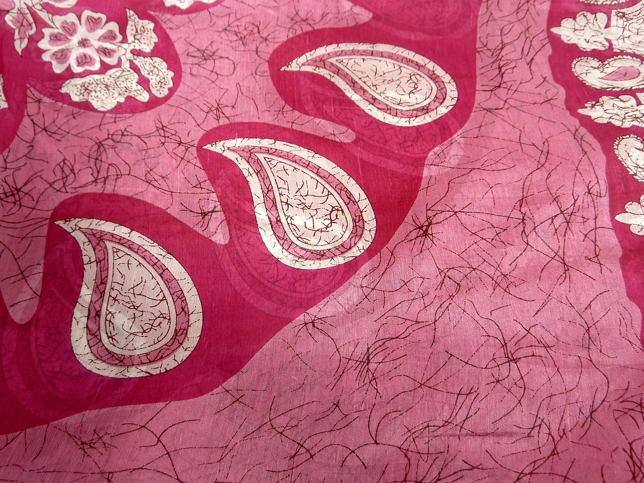 Mulberry Silk Classic Square Scarf Zahra Pink by Pashmina & Silk
