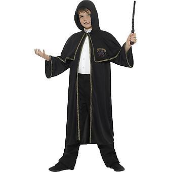 Wizard mantel, zwart