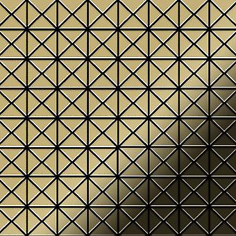 Metall mosaik mässing legering Deco-BM
