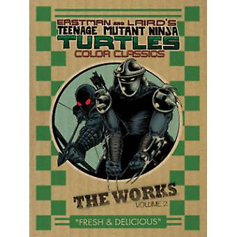 Teenage Mutant Ninja Turtles - Band 2 - Werke von Kevin B. Eastman - P