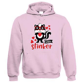 Kleine Stinker, Hoodie - lustige süße Skunk Tier Liebe Valentines Geschenk ihm ihre