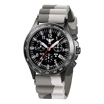 השעון השחור של שעונים מחלקה שחור טיטאן הכרונוגרף-סיקים. . אני מבין. DC5