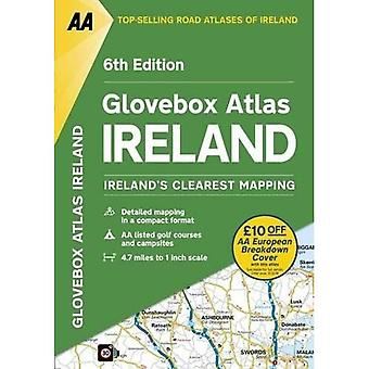 AA Glovebox Atlas Ierland (AA Road Atlas)