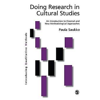 Forskar i Cultural Studies: en introduktion till klassiska och nya metoder (införa kvalitativa metoder-serien)