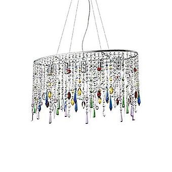 Ideal Lux - pioggia colore grande ciondolo IDL105277