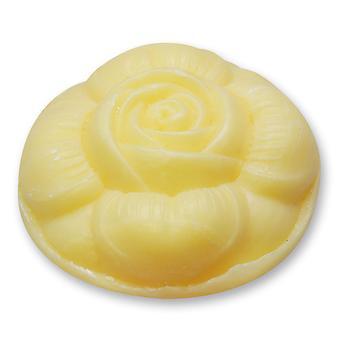 Florex sheep milk SOAP - lemon - fresh Lemony scent in the form of rose 110 g