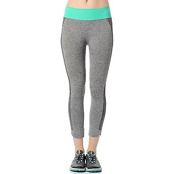 Guillaume - Womens-baft - grey Melange - Leggings Active