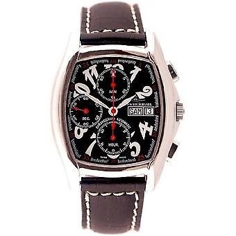 ゼノ ・ ウォッチ メンズ腕時計トノー画面クロノグラフ日付 9086TVDD h1