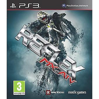 Mx Vs ATV Reflex PS3 Game (Italian Box EFIGS In Game)