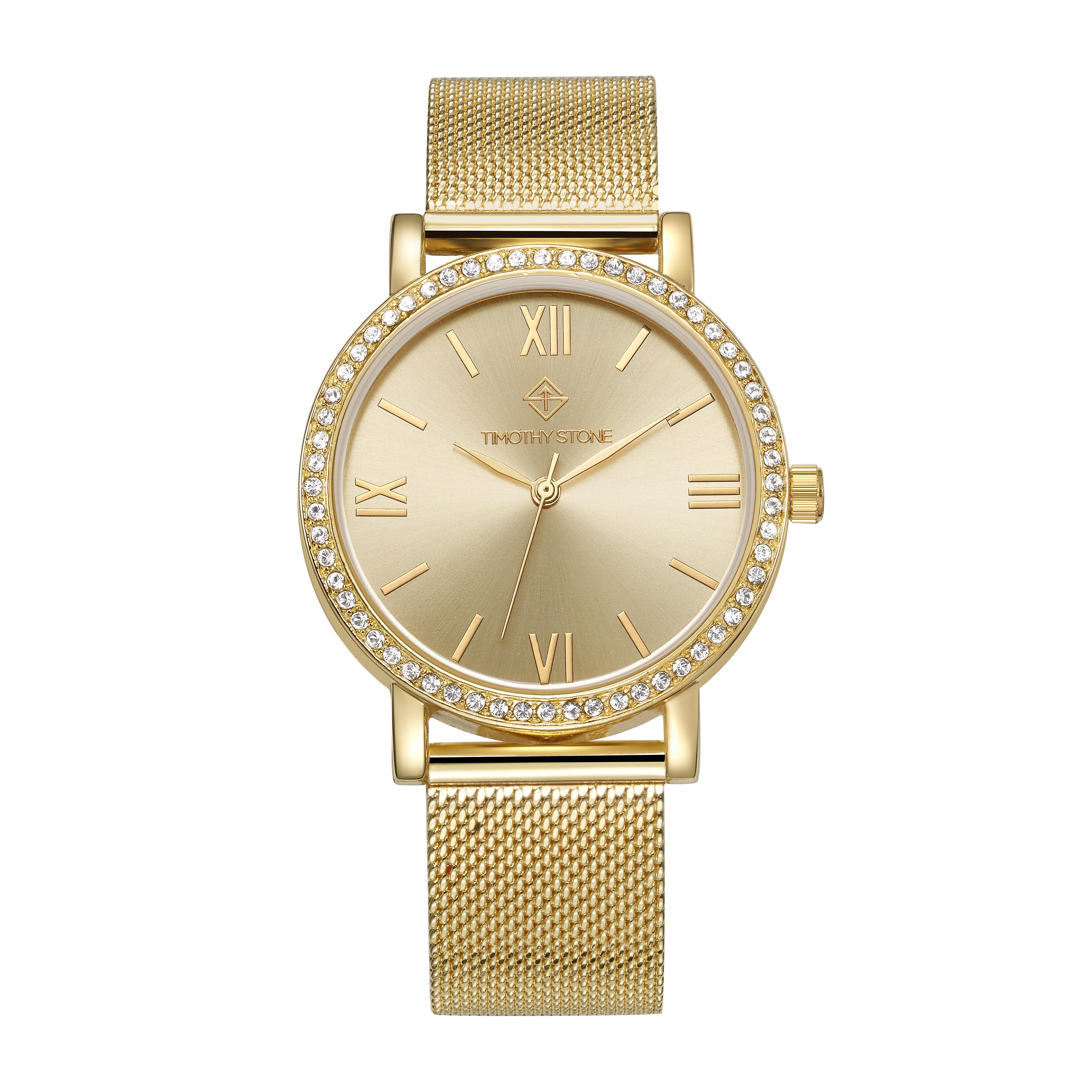 Timothy Stone Women�s INDIO Gold Watch