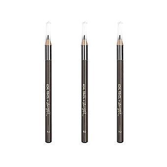 Barry M 3 X Barry M Kohl Pencil - Brown