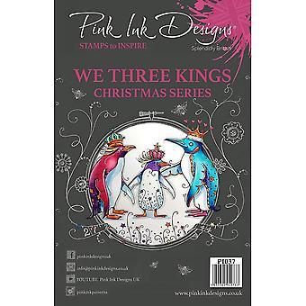 Pink Ink Designs We Three Kings Christmas Series 7 Stamp Set