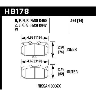 Hawk performance HB178W. 564 DTC-30