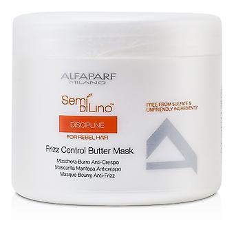 AlfaParf Semi Di Lino Discipline Frizz controle boter masker (voor Rebel Hair) 500ml / 17.28 oz