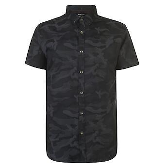 Firetrap hombres manga corta Camo casual camisa todos los días