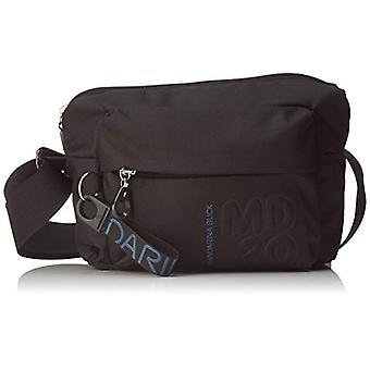 Mandarin Duck Md20 Black Women's Strap Bag (Black) 9x15x21 Centimeters (B x H x T)