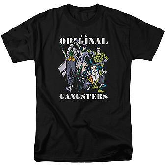 Alkuperäiset gansters Batman ' s Villains miehet ' s T-paita