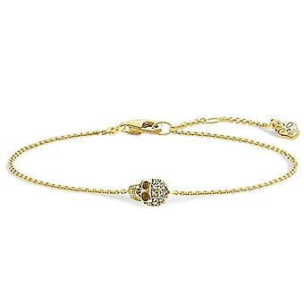 Thomas Sabo FASHIONNECKLACEBRACELETANKLET - Handgelenk Juwel - mit Diamant - GoldPlatte - 0,11 Zentimeter 1,1 Zentimeter 0,56 Zentimeter