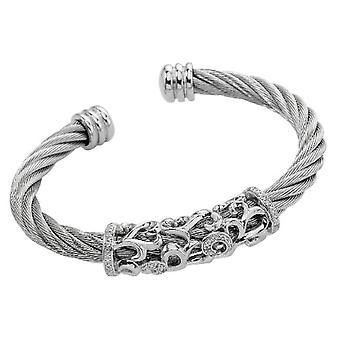 Burgmeister Takı - Kadın bilezik - gümüş sterling 925 - morina JBM3027-521