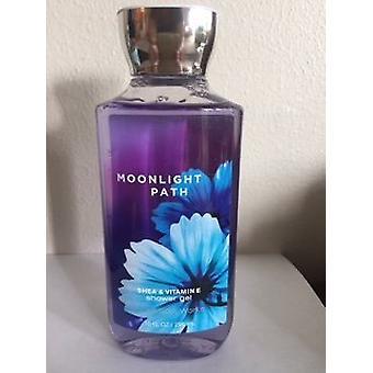 Baie & Body Works Moonlight Path Shea & Vitamina E Gel de duș 10 fl oz / 295 ml (2 Pack)